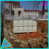 Niveles elevados de fibra de vidrio, acero de sección de FRP Tanque de agua de mejor calidad de depósito de agua GRP