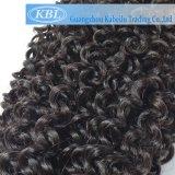 Bouclé crépu brésilien dans des extensions de cheveu
