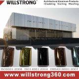솔질되는 양극 처리된 완료 알루미늄 합성 위원회 황금