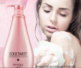 Champô natural 750ml do corpo da essência de Rosa do gel do chuveiro do cuidado de pele da fragrância luxuosa