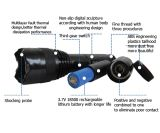Напряжение тока электрическое Batton хорды 4m обязанности кабеля USB оглушает пушки