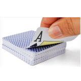 El juego promocional que juega a tarjetas, talla de encargo y diseño es agradable