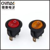 ロッカースイッチ電気スイッチまたは押しボタンスイッチ黄銅ピン