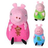귀여운 돼지 같은 Peggy 소년과 아이 아기 책가방 Pepe 돼지 귀여운 만화 어깨 유치원 부대