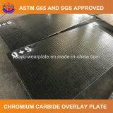 Placa del desgaste del carburo del cromo para la fábrica de cristal
