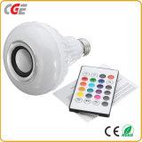 Smart Smart LED Lámpara de LED RGB de luces de la tecnología inalámbrica Bluetooth bombilla LED Bombillas de luz RGB bombilla de la música