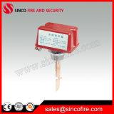 消火活動システムのための水流の表示器