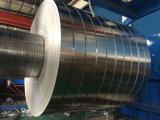 Mill finis en aluminium/aluminium/bande bande ordinaire pour l'enroulement du transformateur