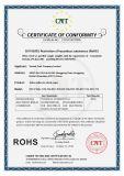 Ce/RoHS/Reachの証明書が付いている一時入れ墨の白紙