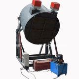 2017 최신 판매 천연 가스 석유 연소 도가니 알루미늄 녹는 로 (30kg-5Ton)