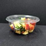 明確な円形のプラスチックサラダボールプラスチックボールのデザート用深皿