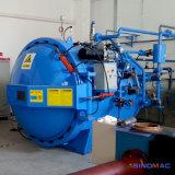 autoclave di gomma di Vulcanizating del riscaldamento elettrico di 1000X1500mm con controllo del PLC