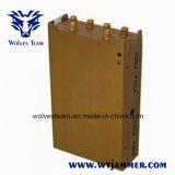 Stampo del telefono delle cellule di 3G 4G ed emittente di disturbo portatili di WiFi Bluetooth GPS