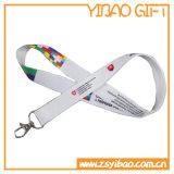 카드 홀더 (YB-LY-LY-04)를 가진 방아끈을 인쇄하는 주문 열전달