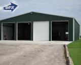 가벼운 강철 구조물 Prefabricated 저장 또는 Carpot 창고
