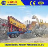 Calcare/minerale ferroso/rame/roccia/pietra/complessi/pianta mobile del frantoio cono della costruzione/cono portatile che schiaccia pianta