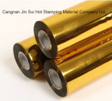 Hoja olográfica del fabricante de la película del oro para la tarjeta de visita