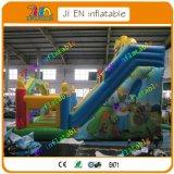 glissière gonflable faite sur commande de 8*5*6m/glissière gonflable bon marché géante/glissière commerciale à vendre