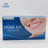 Hauptzähne, die Installationssatz mit stärkerem zahnmedizinischem Gel weiß werden