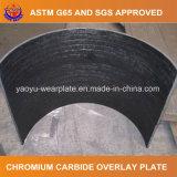 Plaque de recouvrement de carbure de chrome pour la position de chargeur