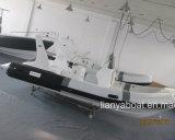 Barca della nervatura della sezione comandi concentrare di Liya 5.8m con il motore da vendere