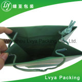 Розничный роскошный упаковывая мешок покупкы черный бумажный