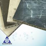 タイル張りの床のための600*900mmの台所高い等級の大理石の蜜蜂の巣のパネル