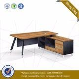 L en bois bureau d'ordinateur portatif de forme avec le Module (HX-5N024)