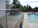 Rete fissa di vetro del raggruppamento della balaustra di Frameless per il balcone o la piscina