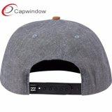 5 Painel de Design Personalizado Snapback Hat com patch de pele artificial (65050099)