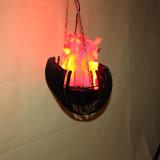 Llama falso falso lámpara colgante lámpara de fuego