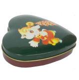 Cadre ovale de bidon de sucrerie de forme