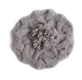 Chapéu acrílico feito malha colorido por atacado do inverno do Beanie