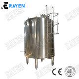O tanque de líquido sanitárias abrir o tanque de aço inoxidável