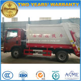 Sinotruck 4X2 압축 쓰레기 트럭 5 톤