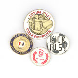 Metallabzeichenpin-Rückseite für die Taste, die Gussteil-Maschine herstellt
