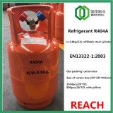 O fluido criogénico R404A chegar a EN13322 Refillabel cilindro de aço com Qf-13Válvula y