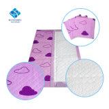 garnitures changeantes d'absorption de 90*60cm de confort de bâti adulte remplaçable élevé d'incontinence