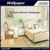 Papel pintado natural no tejido los 0.53*10m de la venta del papel pintado decorativo caliente 3D del hogar