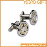 カスタマイズされたロゴ(YB-cUL-08)の金の方法カフスボタン