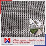 Espessura 1,2Mm Cortina de alumínio Fabricante de tela de sombreamento do clima