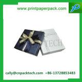 Handgemachtes kundenspezifisches Großhandelsfirmenzeichen gedruckter Papieruhrenarmband-Geschenk-Kasten