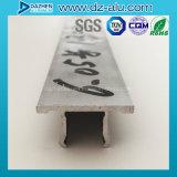 Profil en aluminium de bâti d'entrée principale de système d'étalage