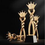 Haute qualité ! 2018 Nouvelle Triumph trophée de cristal de la Couronne de la vente libre de souvenirs de trophées de résine de Champion de l'impression