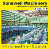 5 Gallone /18L/19L/18.9L abgefüllt/Zylinder-reines Wasser-/Trinkwasser-Füllmaschine-/Filling-Zeile