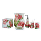 Prodotti di ceramica domestici dei montaggi della stanza da bagno con stampa della decalcomania