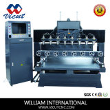 Multi-Head router Router CNC máquina de grabado de madera de la máquina de grabado