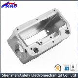 Kundenspezifischer Präzisions-Aluminium CNC, der zentrale Maschinerie-Ersatzteile maschinell bearbeitet
