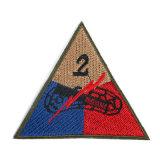 カスタム軍の軍服のための肩によって編まれるパッチ