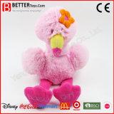 Kundenspezifischer angefülltes Tier-super weicher Spielzeug-Flamingo